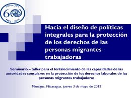 diseño políticas integrales para la protección de