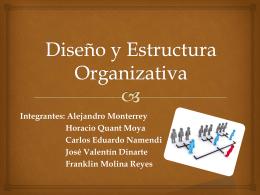 Diseño y Estructura Organizativa