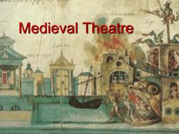 Medieval Theatre - Kafkas Üniversitesi