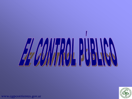 CONTROL INTERNO ANTECEDENTES HISTÓRICOS