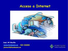 Tecnologías de Acceso a Internet