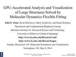 Accelerating Molecular Modeling Applications with