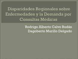 Localización Regional y la demanda de Servicios