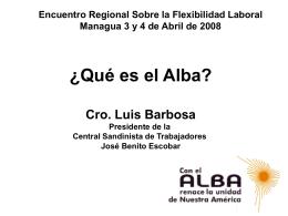 Alternativa Bolivariana para América Latina y El