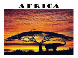 AFRICA - lcusd.net