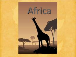 africa - Готовые презентации powerpoint