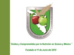 Diapositiva 1 - Colegio de Nutriólogos del Estado