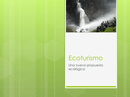 Ecoturismo - Whitney López | This WordPress.com