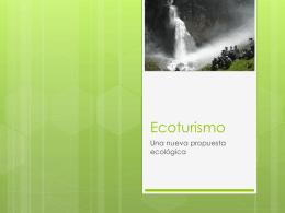 Ecoturismo - Whitney López | This WordPress.com
