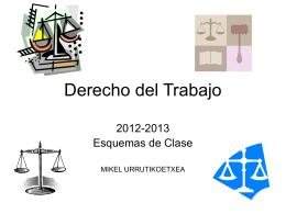 I. TEMA . SIGNIFICADO Y EVOLUCIÓN DEL DERECHO DE