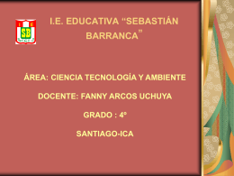 "I.E. EDUCATIVA ""SEBASTIÁN BARRANCA"""