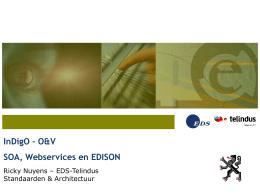 Web Services en EDISON