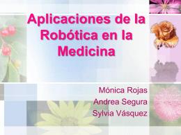 C Aplicaciones de la Robótica en la Medicina