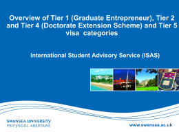 Applying for a Tier 4 (Student) Visa Extension