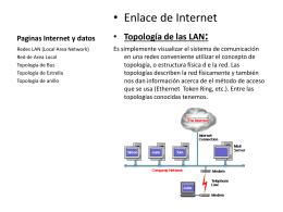 Paginas Internet y datos