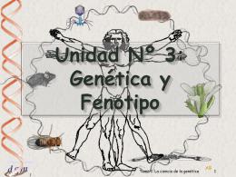 Tema 1: Introducción a la Genética