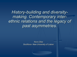 History-building and diversity