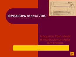 Máquinas 7706