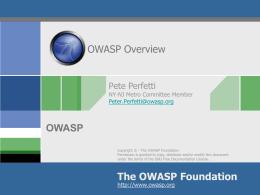 OWASP Intro