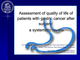 Gastric Cancer Surgery