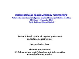 Bild 1 - Inter-Parliamentary Union