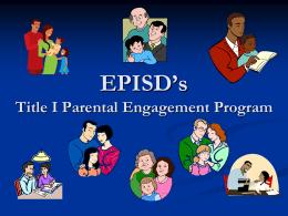 EPISD Parental Involvement