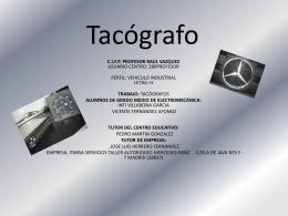Tacógrafo - COMFORTECA
