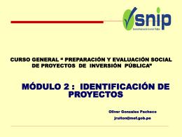 Diapositiva 1 - Luis Peláez Contti, MGP | Economia