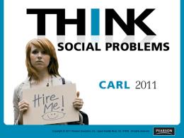 SOCIAL PROBLEMS SOCIAL TOPICS