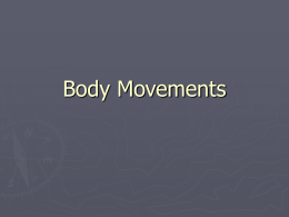 Body Movements - Mesa Public Schools