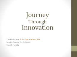 Journey Through Innovation