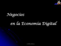 Negocios en la Economía Digital