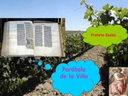 Parábola de la Viña - Plataforma Acoger y
