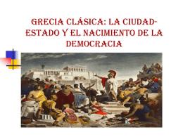 Grecia clásica: la ciudad-estado y el nacimiento