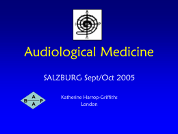 Audiological Medicine - UEMS