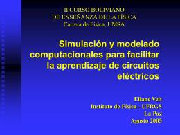 Modelagem Computacional no Estudo de Circuitos