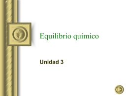 Equilibrio químico - Real Instituto de Jovellanos