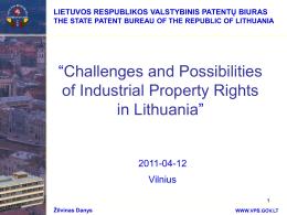 Skaidrė 1 - Lietuvos Respublikos valstybinis