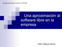 Migración Software Propietario a Software Libre