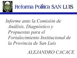 Reforma Política San Luis
