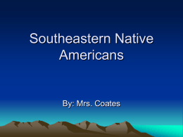 Southeastern Native Americans