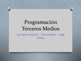 Programación Cuartos Medios