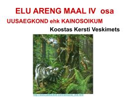 ELU ARENG MAAL - VIKO õpikeskkond