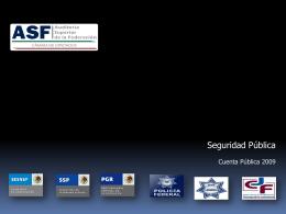Diapositiva 1 - ASF - Auditoria Superior de la