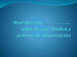 RD RMP - Colegio Oficial de Médicos de A Coruña -