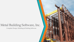 Metal Building Software, Inc.