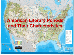 Literary Periods and Their Characteristics