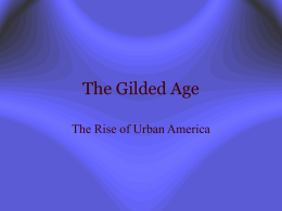 Rise of Urban America