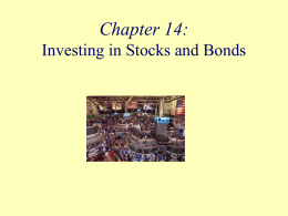 Investing in Stocks Chapter Sixteen
