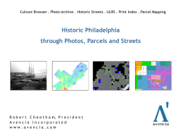 Слайд 1 - Greater Philadelphia GeoHistory Network